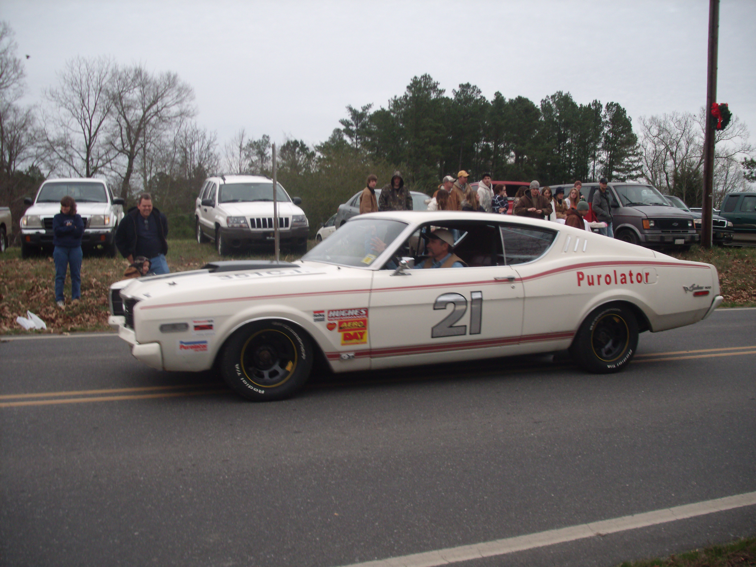 1968 Mercury Cyclone GT 500 : Talladega and Spoiler Registry
