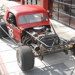 36 Coupe street legal dirt track race car