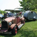 Rat Rod with camper