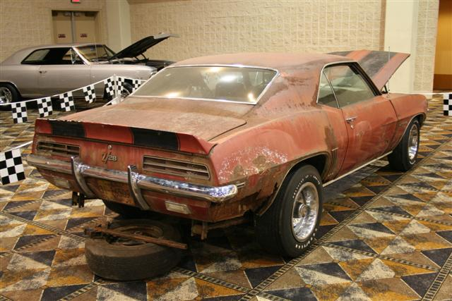 1969 Camaro Rs Z28 Barn Find Information On Collecting