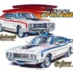 Mercury Cyclone Spoiler and Spoiler II Prints Added to Our Store