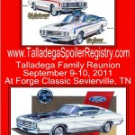 Ford Talladega and Mercury Cyclone Spoiler Registry open for Business!