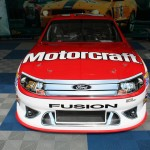 Trevor Bayne Wood Brothers 2012 Ford Race Car