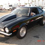 What Are You Working On? 1971 Pinto 8.75 E. T. at 154 MPH