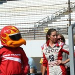 Firehawk checks out Izod Girl