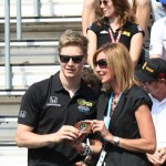 Indy 500 rookie Josef Newgarden gets his rookie ring