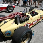 vintage Indy 500 race car