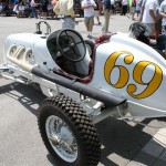 vintage Indy race car