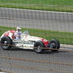 Indy 500 vintage race car Parnelli Jones