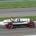 Indy 500 vintage race car