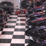 The Bill Mullis Collection of Black Corvettes!