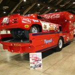 TOM McEWEN PLYMOUTH DUSTER FUNNY CAR AND HAULER