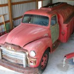 New Project: 1954 GMC Fuel Tanker Truck