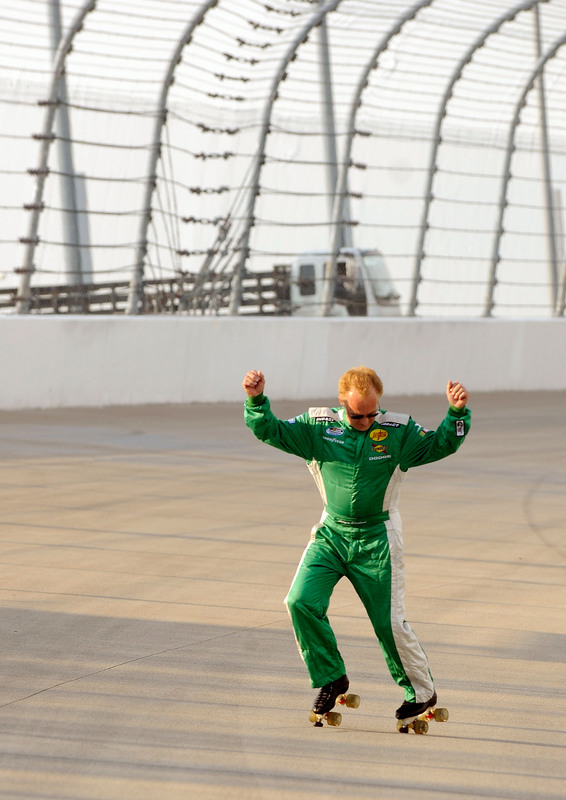 Photo of Morgan Shepard you are my Hero; NASCAR Nationwide at Nashville 6/7/2008
