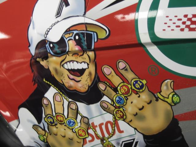 Photo of John Force NHRA Champion and one of the real Good Guys