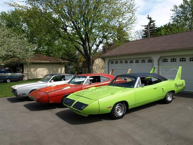 1969 Dodge Daytona And A 1970 Superbird
