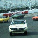 Dodge Daytona, Plymouth Superbird, Ford Talladega, Mercury Cyclone Spoiler II Reunite at the Race Track and We Have the Photos