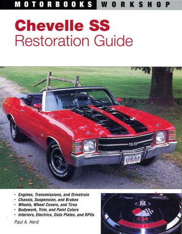 Photo of Muscle Car Book: Chevelle SS Restoration Guide