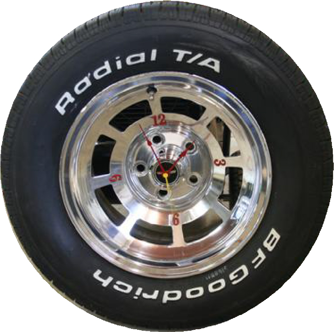Wheel/Tire Clock Do-it-Yourself - Information on ...