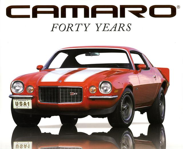 Photo of Muscle Car Book Review: Camaro Forty Years
