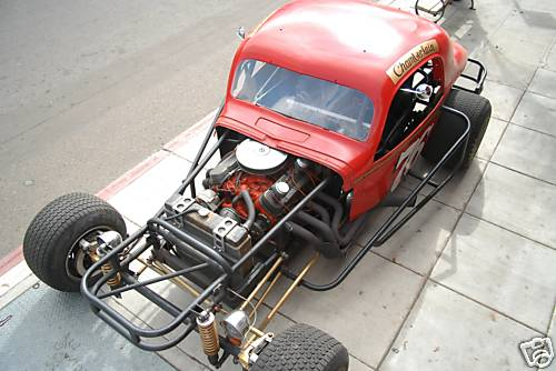 Dirt Track race car for the Street – Information on collecting cars