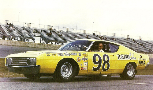 Photo of Benny Parson's 1969 Ford Talladega ARCA Race Car