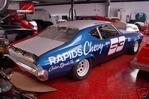 Chevelle race car