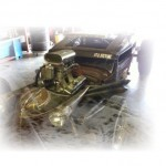 Indy 500 Driver Owns Rat Rod!