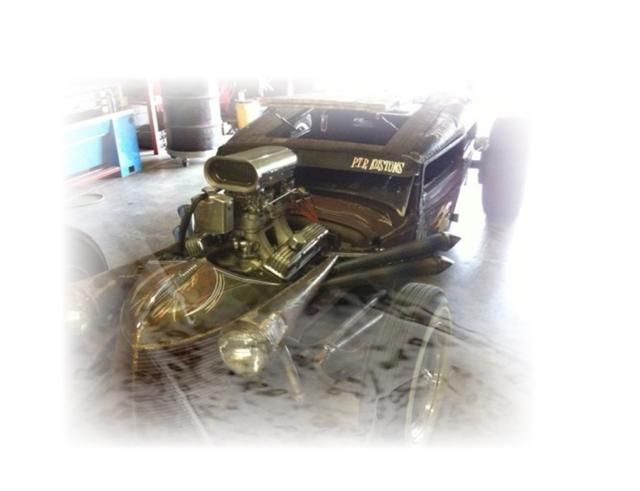 Photo of Indy 500 Driver Owns Rat Rod!
