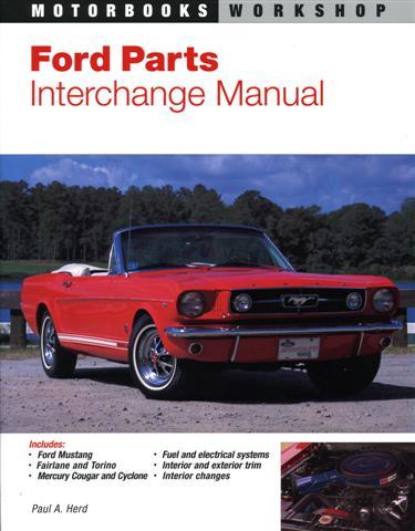1950-1965 parts interchange book mercury ford lincoln edsel fomoco.