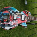 Sam Bass Guitar; Nashville Speedway