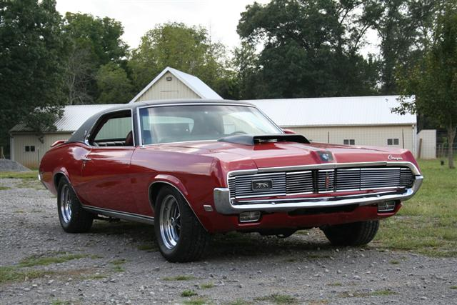 Photo of 1969 Mercury Cougar 428 CJ XR7 comes to life!