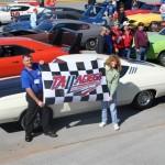 Dodge Daytona and Plymouth Superbird Club at Talladega 40th Reunion
