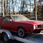 New AMX Project Car added to Garage