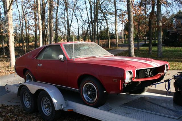 Photo of New AMX Project Car added to Garage