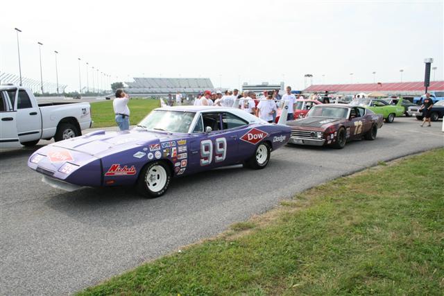 Photo of The Aero Cars arrive at Daytona; 1969