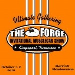 Ford Talladega Family Reunion at the Forge Muscle Car Show