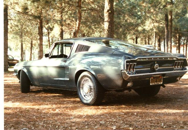Photo of 1967 Mustang Fastback Restoration