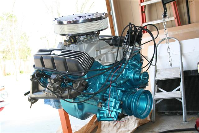 AMX, Project Car, Group 19, engine build : Information on collecting