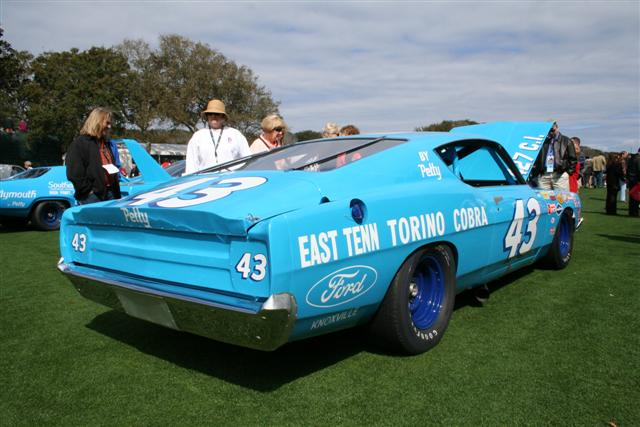 Richard Petty Nascar Race Car Oldsmobile Ford Torino Number