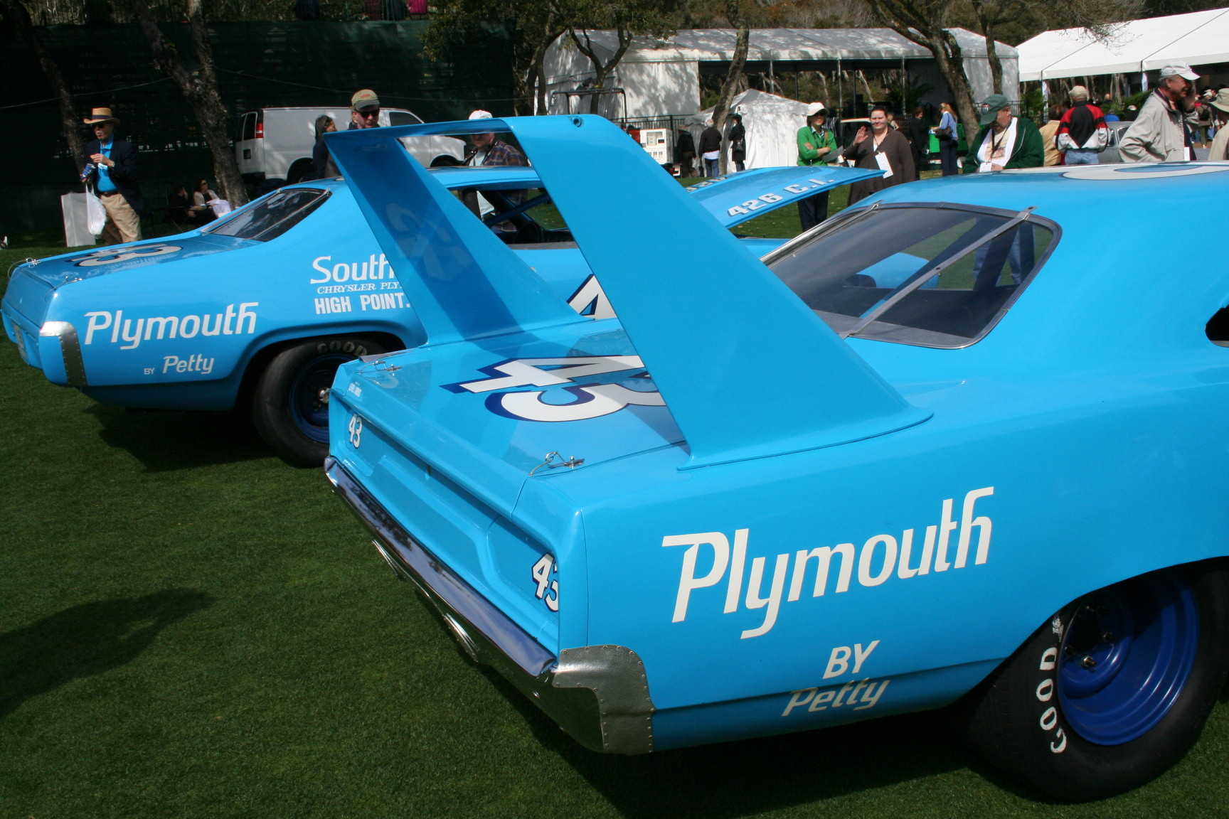 Richard Petty, NASCAR, Race Car, Oldsmobile, Ford, Torino, number 43 ...