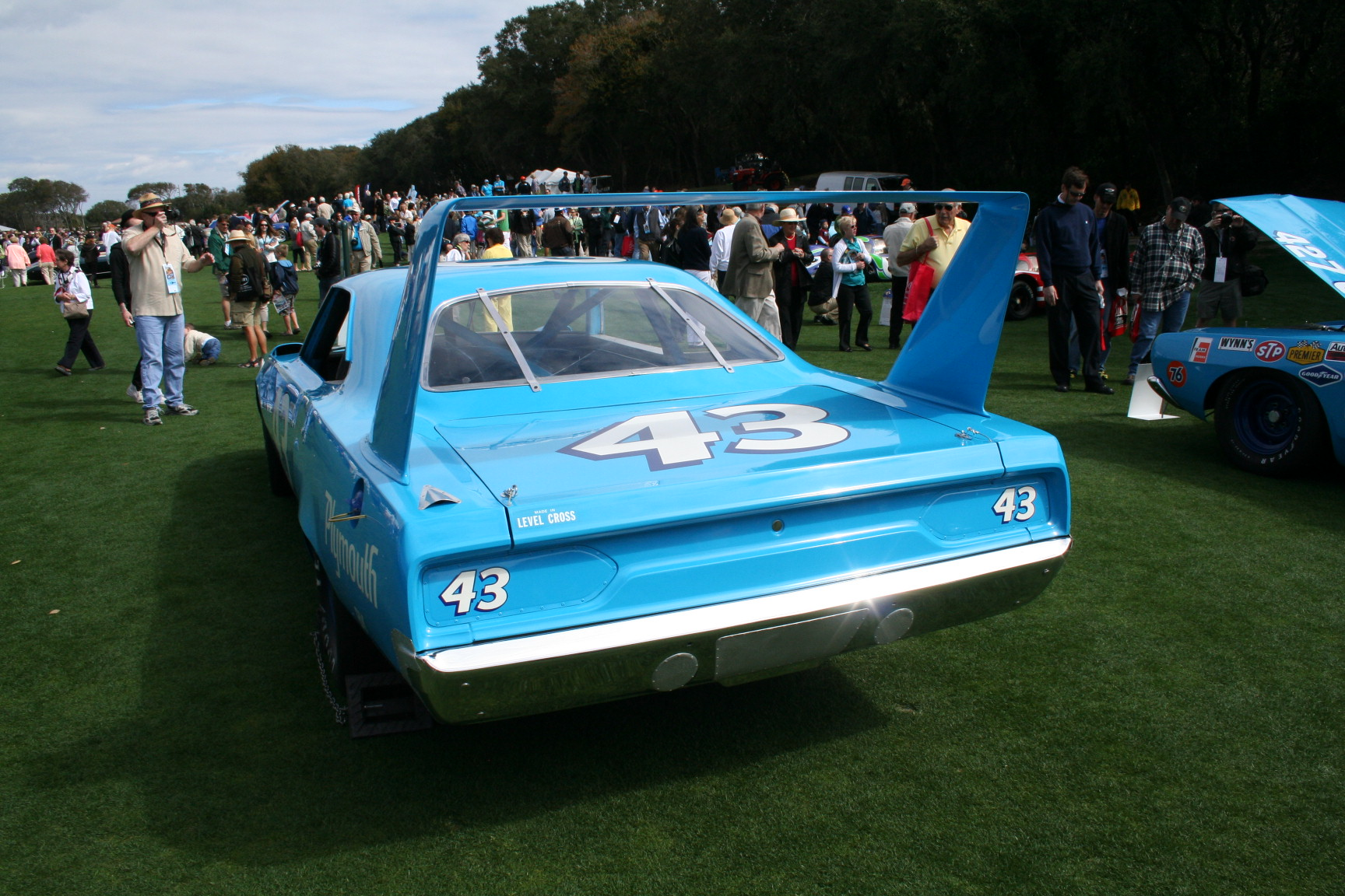 Richard Petty, NASCAR, Race Car, Oldsmobile, Ford, Torino, number 43 ...