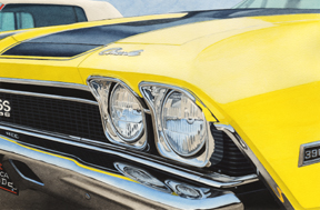 Photo of Chevy Muscle Car Love