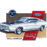 1969 Ford Talladega Art Work