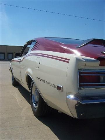 Photo of 1969 Mercury Cyclone Spoiler; Overview