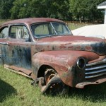 Help us Build a Rat Rod! (not a barn find; it came out of a pasture)