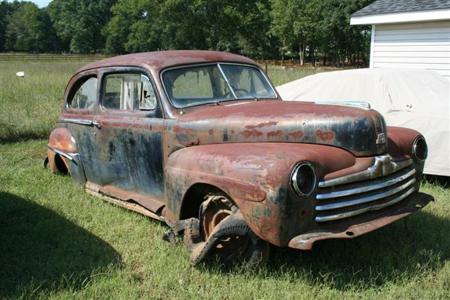 Photo of Help us Build a Rat Rod! (not a barn find; it came out of a pasture)