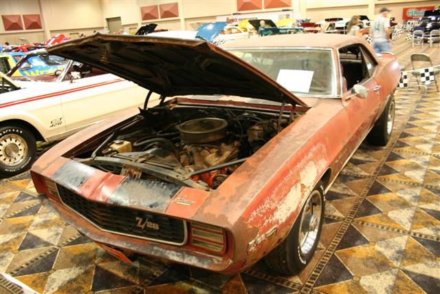 1969 camaro rs z28 barn find information on collecting cars legendary collector cars. Black Bedroom Furniture Sets. Home Design Ideas