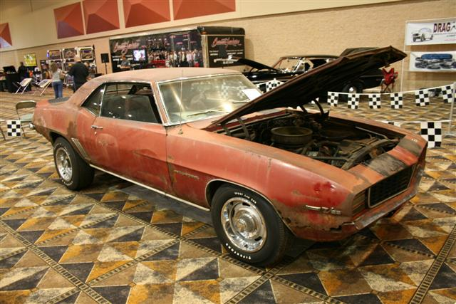 Camaro RSZ Barn Find Information On Collecting Cars - Find car shows