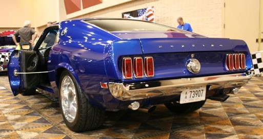 Photo of 1969 Mustang Mach 1 Custom by Larry Payne